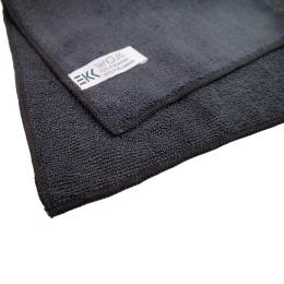 Microfibre cloth Soft 40 x 40 cm black (5 pieces)