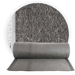 Stainless Steel Wool 434 crossed 1000 mm - 70 μm, ± 900 gr/m2