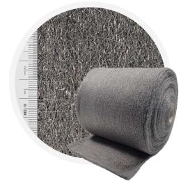 Stainless Steel Wool 434 crossed 400 mm - 70 μm, ± 1200 gr/m2
